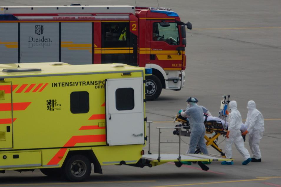 Im Frühjahr 2020 kamen mehrere italienische Patienten zur Behandlung nach Sachsen, weil in ihrer Heimat die Kliniken keinen Platz mehr hatten.