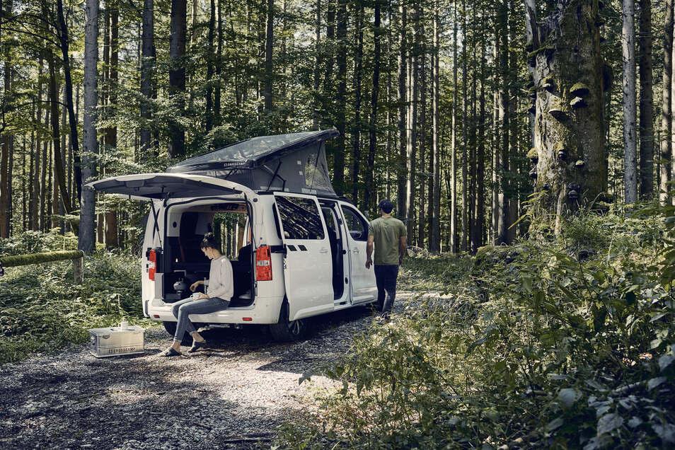 Der Opel Zafira wird zum Crosscamp und öffnet für seine Besitzer völlig neue Dimensionen in Alltag und Urlaub.