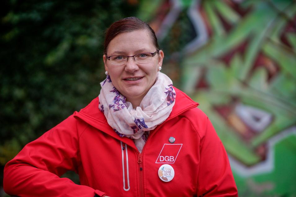 Dana Dubil ist Regionalgeschäftsführerin des Deutschen Gewerkschaftsbundes (DGB) Ostsachsen.