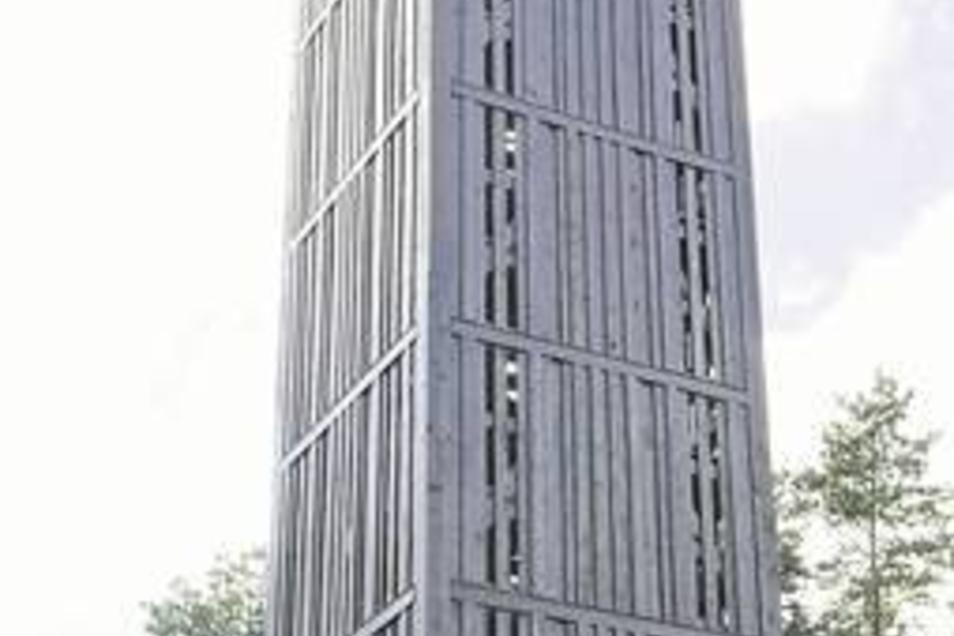 Der Heidebergturm bei Strauch. Er wurde vor fünf Jahren errichtet, befindet sich auf Brandenburgs höchster Erhebung: der 201,4 Meter hohen Heidehöhe. Fotos:Brühl/Wittchen/Davids/Krüger-M.