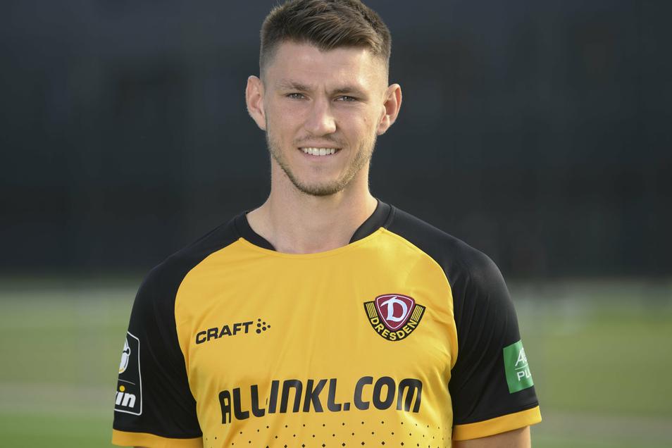 Robin Becker fehlt Dynamo Dresden für den Rest dieser Saison.