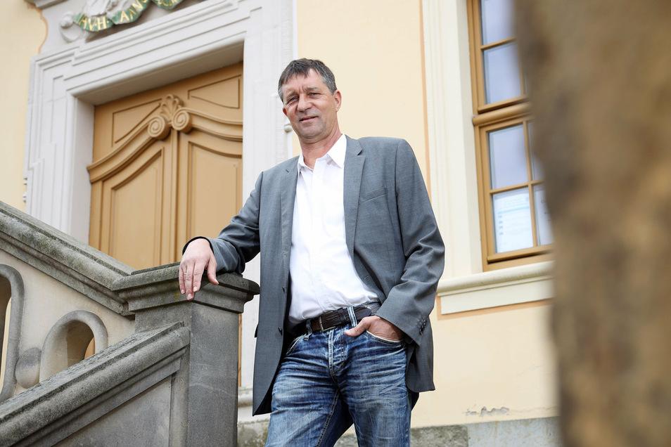 Dirk Zschoke gewann mit 42,7 Prozent die Wahl deutlich. Doch für die absolut Mehrheitr reichte es nicht.