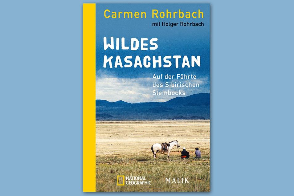 Auf dem Cover des Buches sind die weiten Landschaften des Kasachischen Hochgebirges zu sehen.