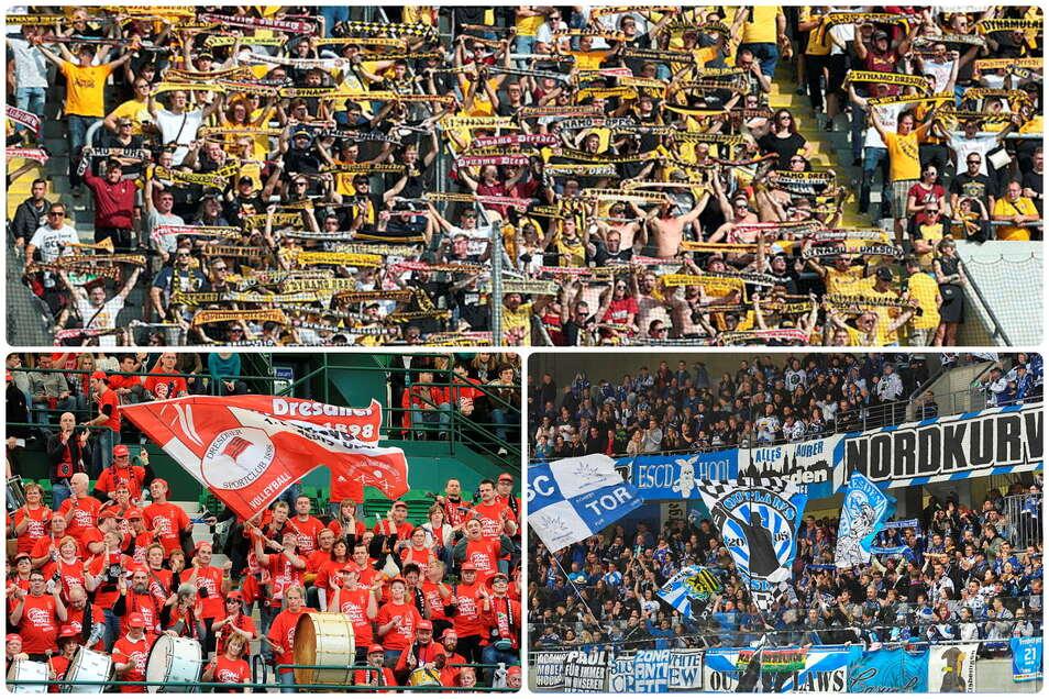 Nicht nur bei den drei großen Dresdner Vereinen Dynamo, DSC und Eislöwen herrscht in Sachen 3G Einigkeit.