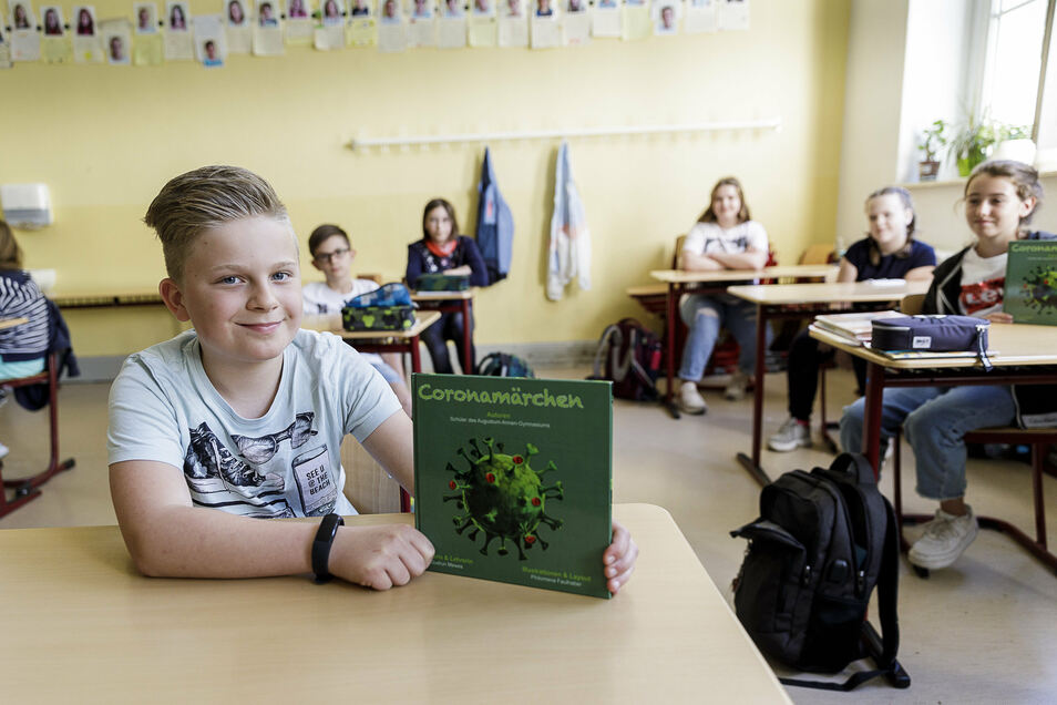 Das von Schülern des Augustum-.Annen-Gymnasiums Görlitz geschriebene Märchenbuch ist jetzt im Handel erhältlich.