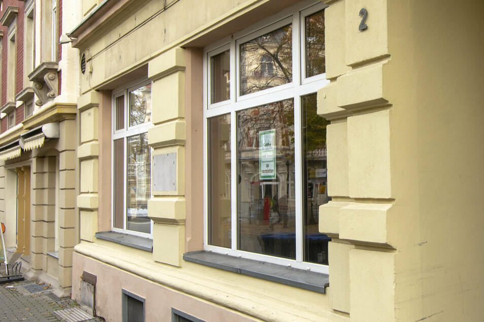 Die ehemalige Rumpelkammer am Alexander-Puschkinplatz in Riesa. Bald unterschreibt die Stadt den Mietvertrag für einen Jugendladen. Wenn beim Umbau alles glatt läuft, könnte der Laden noch 2020 eröffnen.