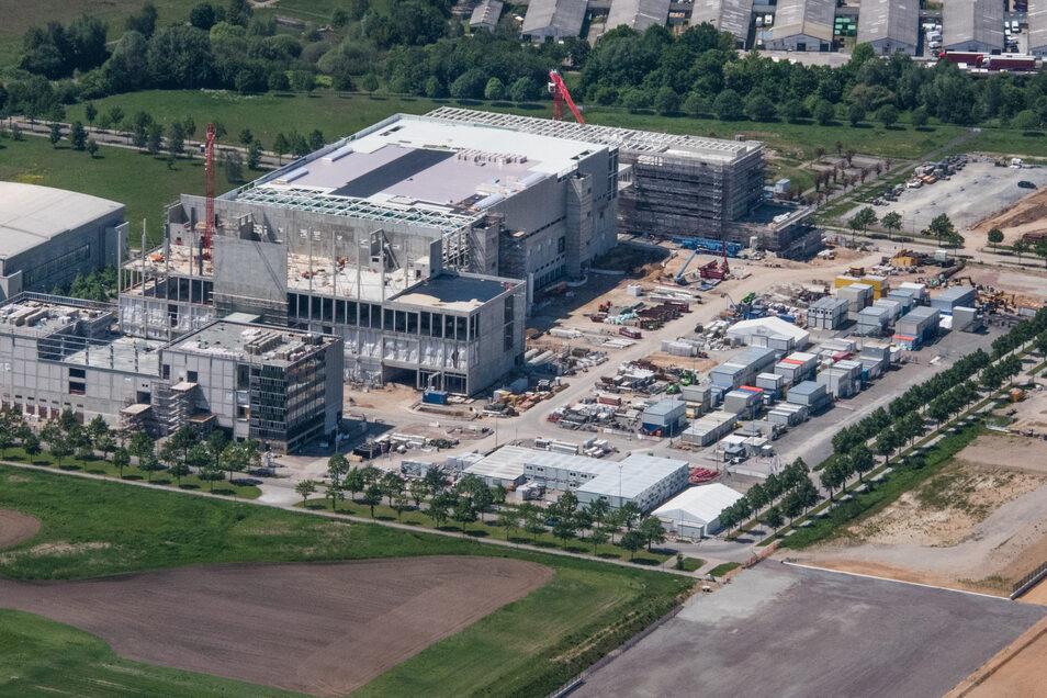 Bosch baut ein neues Werk in der Nähe des Dresdner Flughafens. Trotz Investitionen wie dieser läuft in der sächsischen Wirtschaft nicht alles rund.