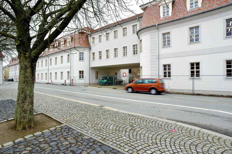 Der Neubau der Zinzendorfschulen in Herrnhut.