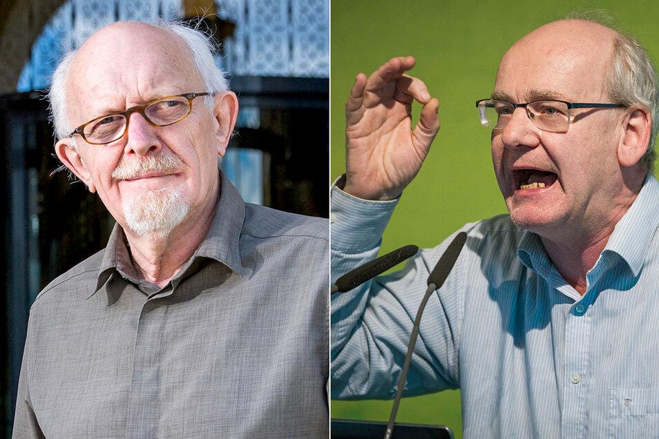 Michael Schmelich und Johannes Lichdi wirbeln den Dresdner Stadtrat durcheinander.