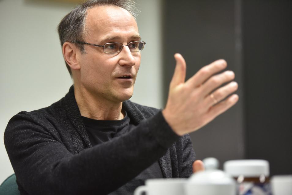 Thomas Schwitzky ist Fraktionschef bei Zkm.
