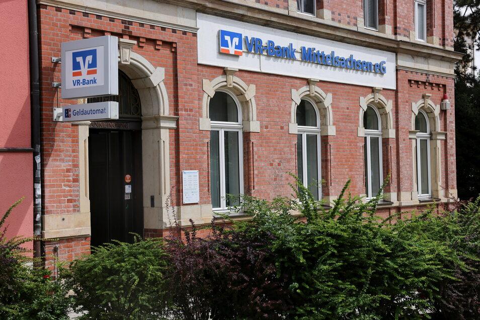 Die Volksbank-Filiale in Waldheim an der Bahnhofstraße wird wegen Sanierungsarbeiten ab dem 6. September geschlossen.