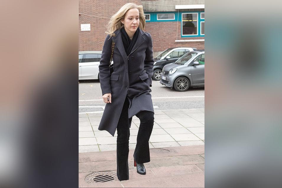 Meike Schlecker nach der Urteilsverkündung im November 2017.