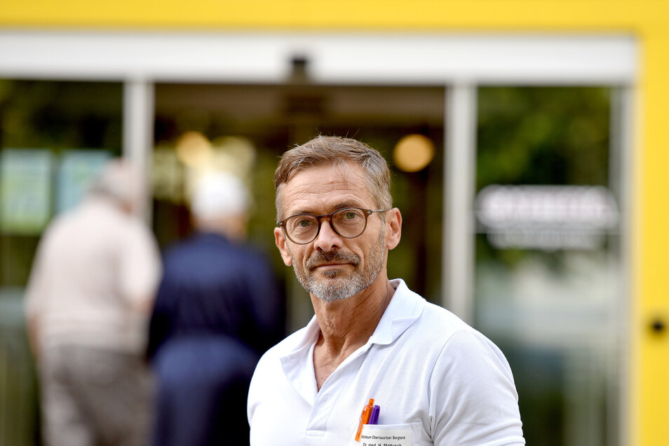 Holger Matthusch ist seit 25 Jahren am Zittauer Krankenhaus - und hat es nie bereut.