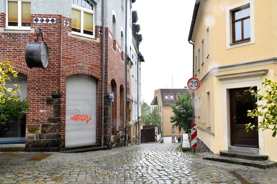 In Radeberg stehen mittlerweile mehrere Geschäfte leer.