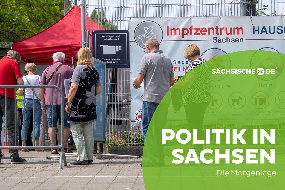 Zum Impfen in den sächsischen Impfzentren geht ab Freitag auch ohne Termin.