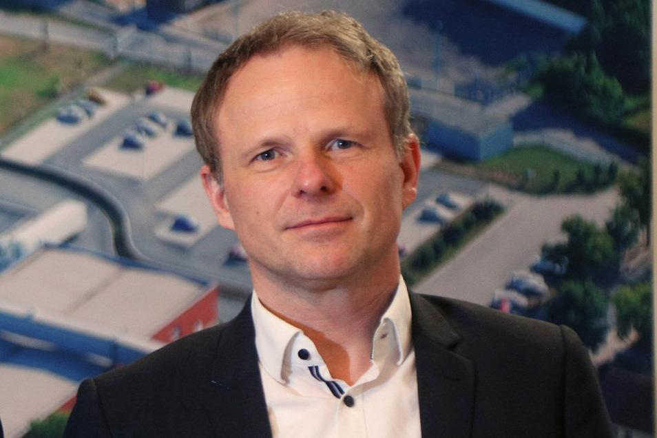 Mike Hennig wurde mitten in den Verhandlungen Geschäftsführer bei den Teigwaren Riesa.