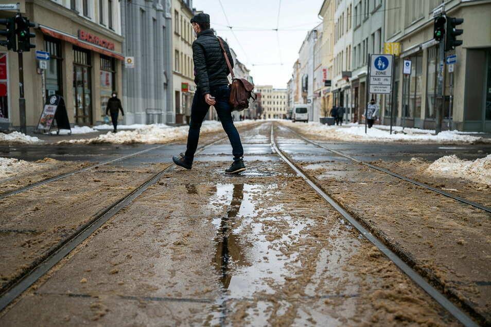 Wohin führt der Weg? Nach Görlitz oder aus der Stadt weg?