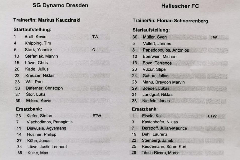 Luka Stor steht überraschenderweise für Philipp Hosiner in der Startelf.