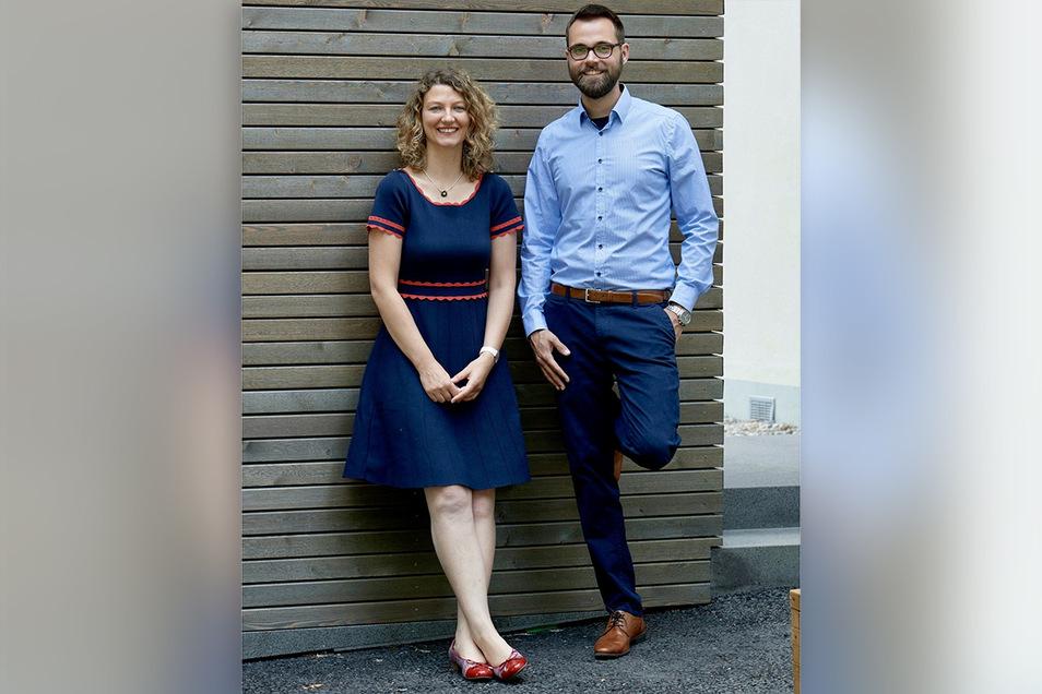 Dr. Anne Kristin Heninger und Prof. Dr. Frank Buchholz: Mit ihrem Startup RecTech wollen sie eine neuartige Genschere auf den Markt bringen.