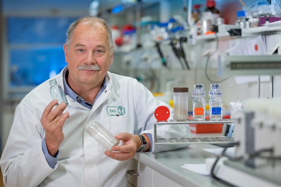 Detlef Thieme arbeitet seit 1992 am Institut für Dopinganalytik und Sportbiochemie Dresden in Kreischa (Idas) - so der offizielle Titel. Derzeit haben er und seine 30 Kollegen weniger zu tun als sonst.
