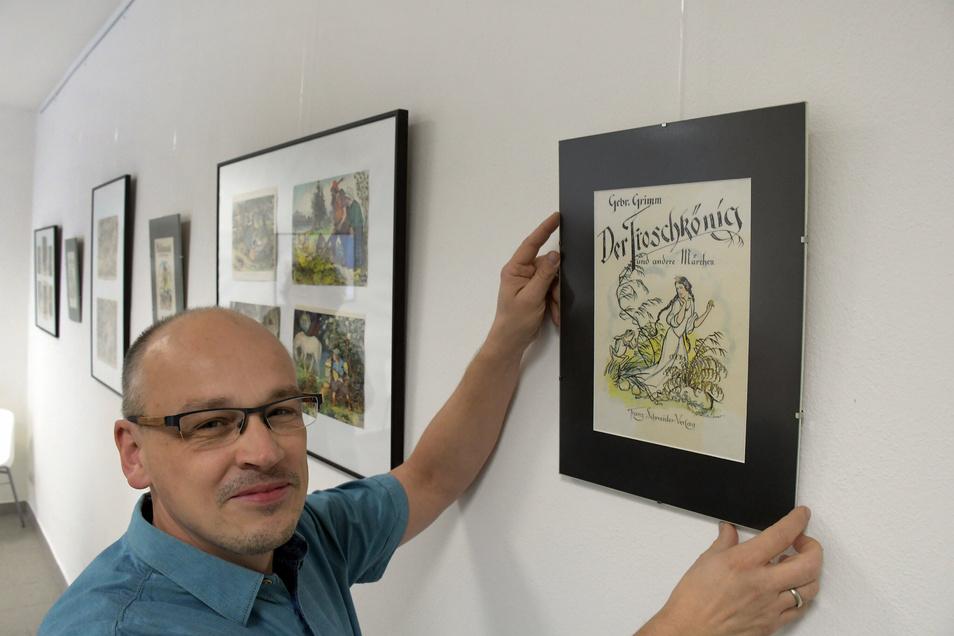 Matthias Löwe stellt in der Galerie an der Schlossstraße aus - nicht zum ersten Mal.