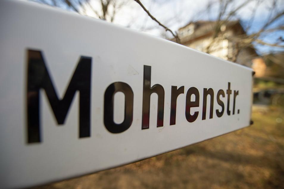 """Der Name """"Mohrenstraße"""" sei nicht mehr zeitgemäß, meinen Schüler aus Radebeul."""