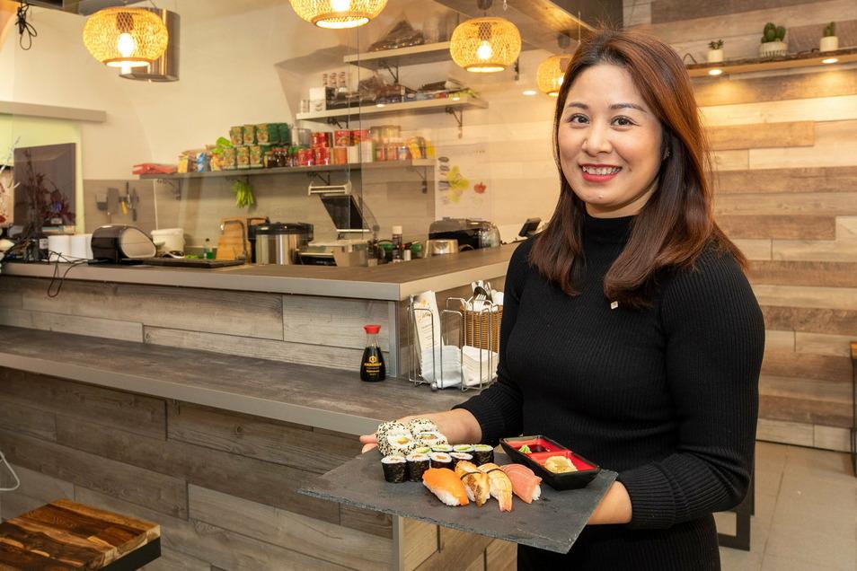Thi Mai Lan Le hat in Pirna auf der Dohnaischen Straße 82 vor Kurzem ein asiatisches Bistro eröffnet. Dann kam der Lockdown ...