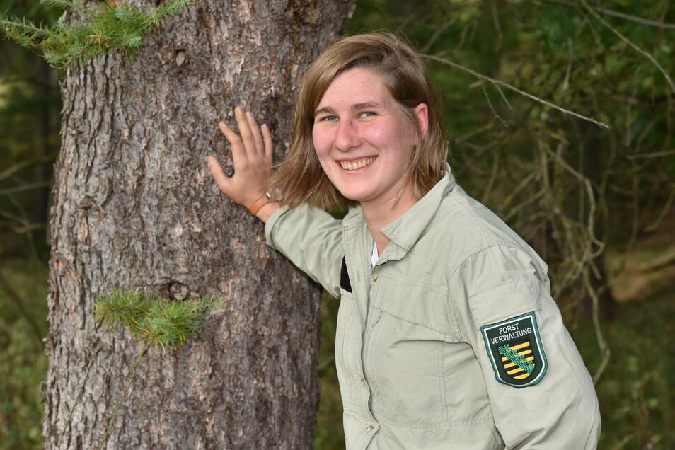 Bis Ende des Jahres ist Aenne Schuster die Ansprechpartnerin im Forstrevier Altenberg.
