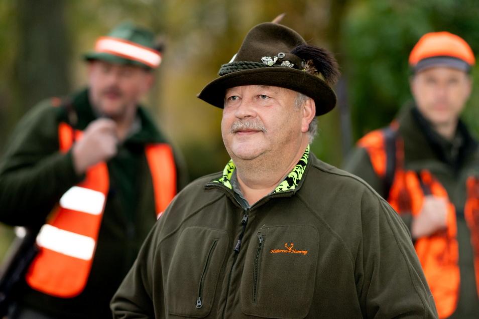 Frank Röllig ist Leiter des Hegerings Oberes Sebnitztal.