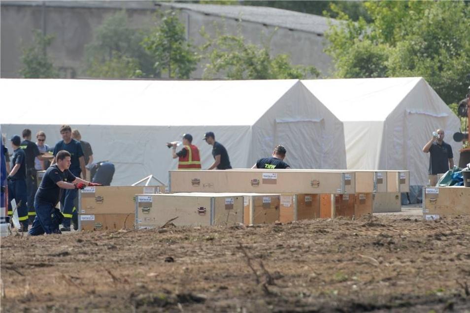 Der Landesverband des DRK wird die Notunterkunft betreiben.