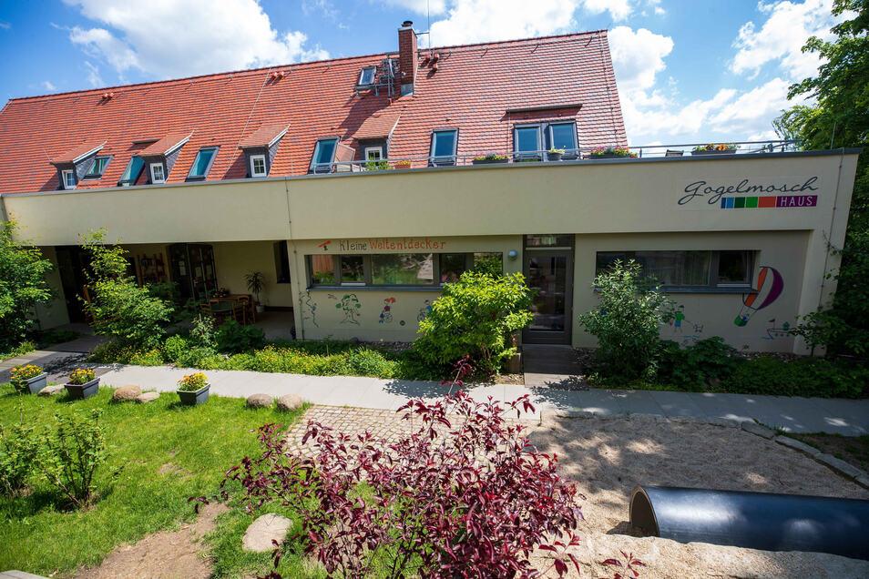 Seit 2014 sind die Kleinen Weltentdecker im Gogelmosch-Haus in Stolpen.