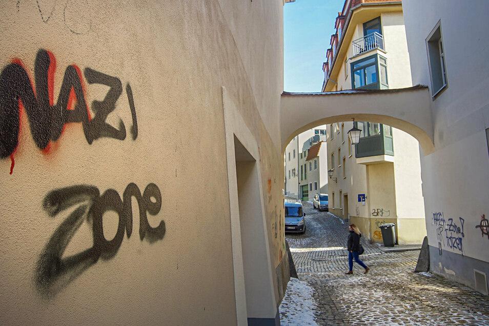 Immer mehr Rechtsextreme gibt es im Landkreis Bautzen - geht aus dem Sächsischen Verfassungsschutzbericht für 2019 hervor.