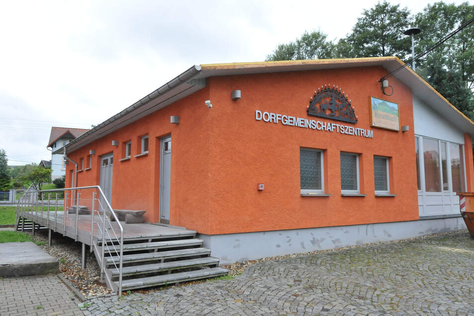 Das Hirschbacher Dorfgemeinschaftshaus wird bei der 600-Jahr-Feier sicher eine Rolle spielen.