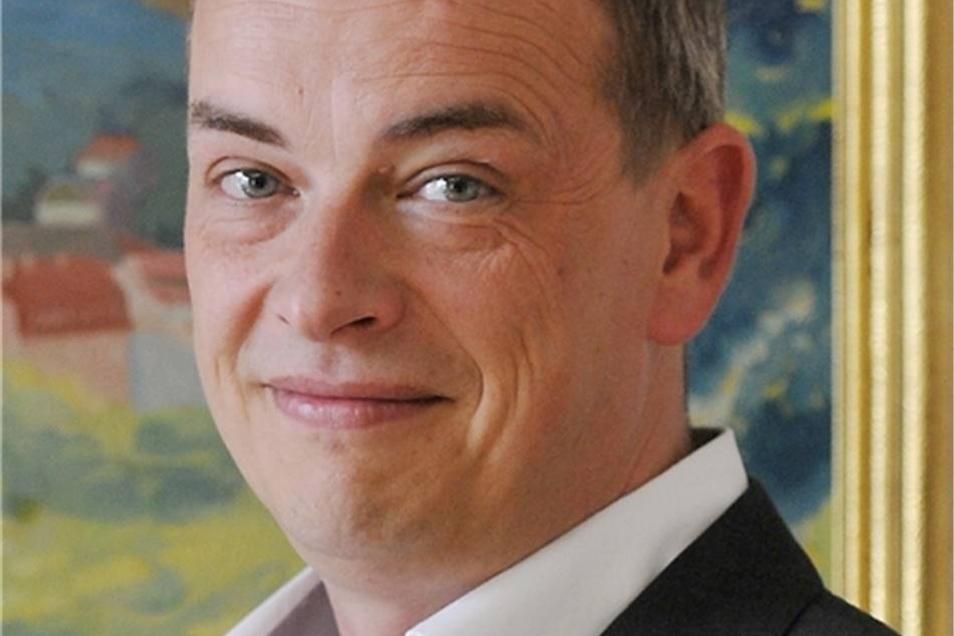 Willem Riecke ist Bürgermeister der Stadt Herrnhut.