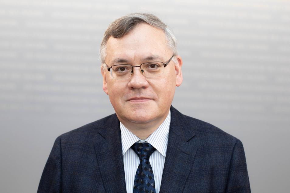 Wollte brisante Daten über AfD-Abgeordnete löschen lassen: Dirk-Martin Christian, seit 1. Juli 2020 neuer Chef des sächsischen Verfassungsschutzes.