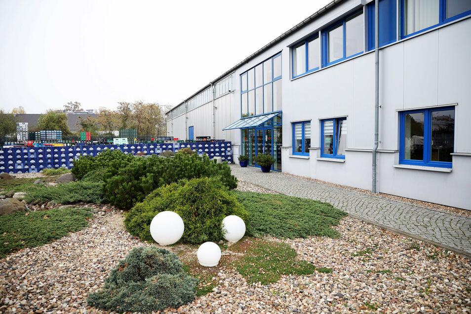 Der Sitz von K+K in an der Klötzerstraße in Riesa. Hier ist das Unternehmen seit 2009 ansässig.