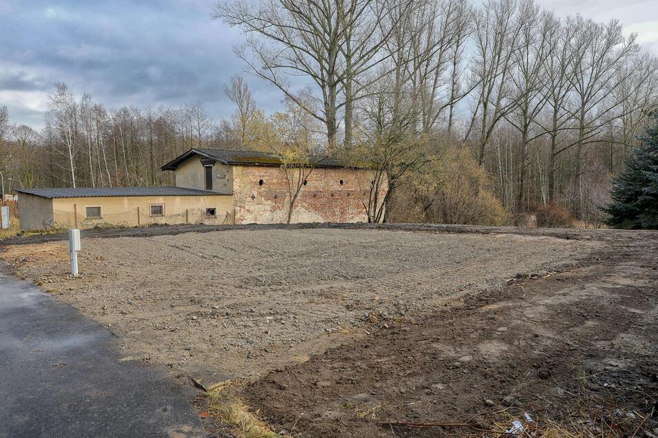 Das Haus Flachsspinnereistraße 20 in Hirschfelde/Rosenthal. ist in den letzten Wochen abgerissen worden.