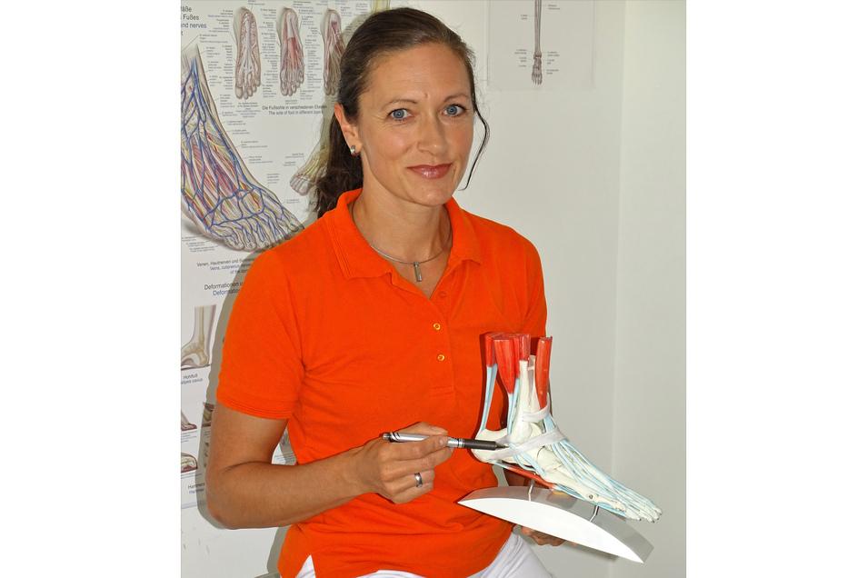 Oberärztin Alexandra Winter als Expertin für Fuß- und Sprunggelenkserkrankungen