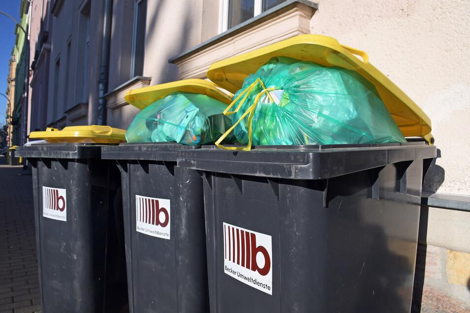 Manche Mülltonne bleibt derzeit etwas länger stehen.