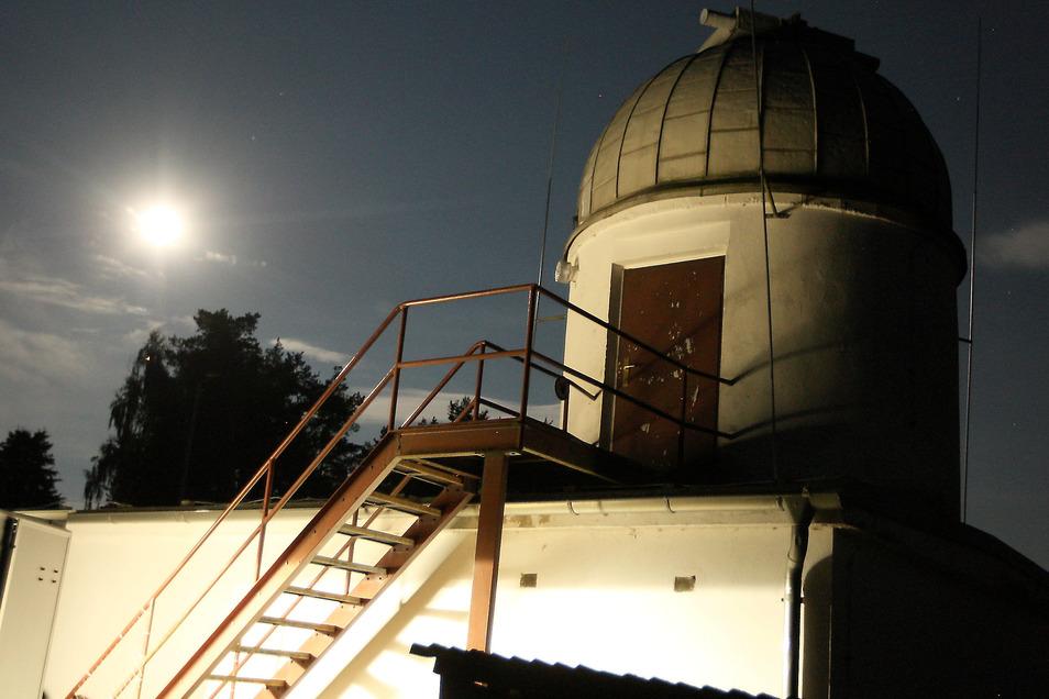 Vor 41 Jahren wurde die Sternwarte in Graupa als Schulsternwarte errichtet.