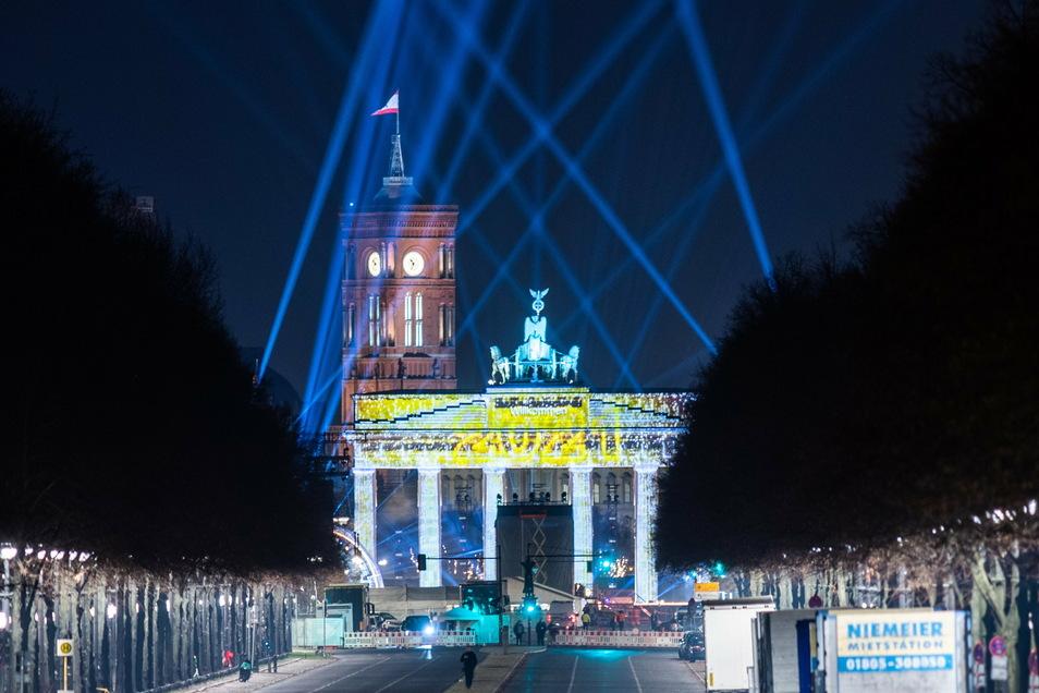 Berlin: Die Straße des 17. Juni ist über Silvester vom Brandenburger Tor bis zur Siegessäule gesperrt.