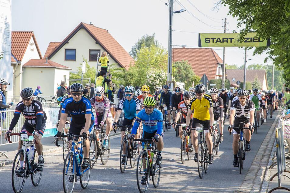 Das Radteam Tharandter Wald veranstaltet jedes Jahr im Mai eine große Radtouristikfahrt.