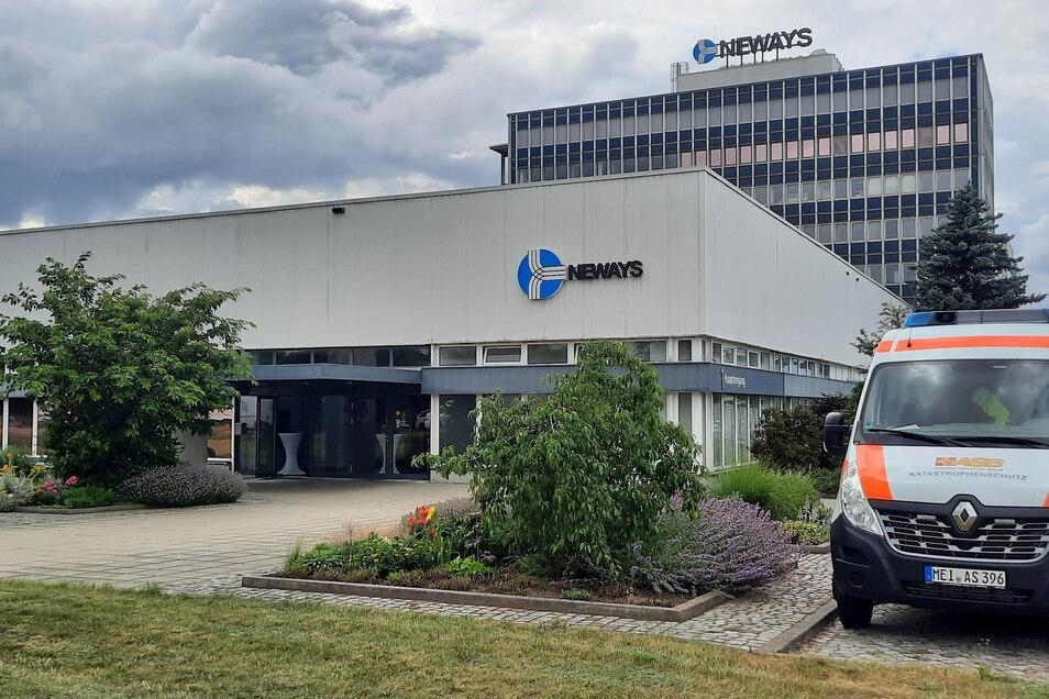 Während im Saarland der Betriebsarzt impfte, war am Riesaer Neways-Standort ein mobiles Impfteam im Einsatz.