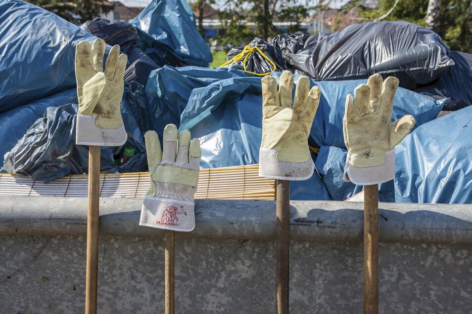 Müll weg, Glasscherben weg, Laub weg - der Ortschaftsrat ruft zum Herbstputz auf.