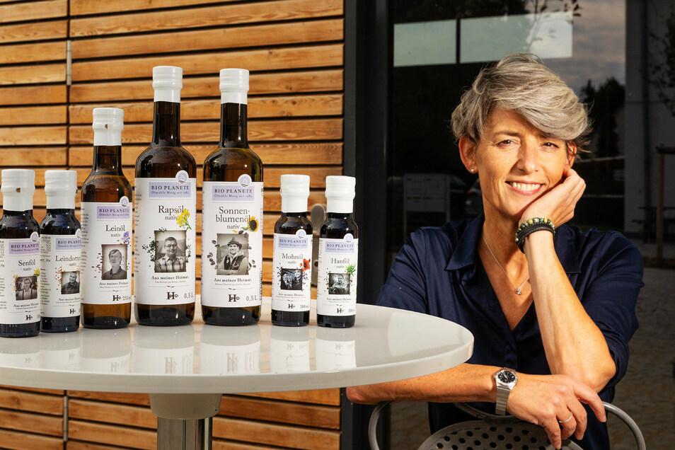Judith Faller-Moog ist Ölmüllerin. Bio-Bäuerin und Ernährungswissenschaftlerin ist sie auch. Und clevere Geschäftsfrau: In die sieben heimischen Öle fließen alle ihre Kompetenzen ein.