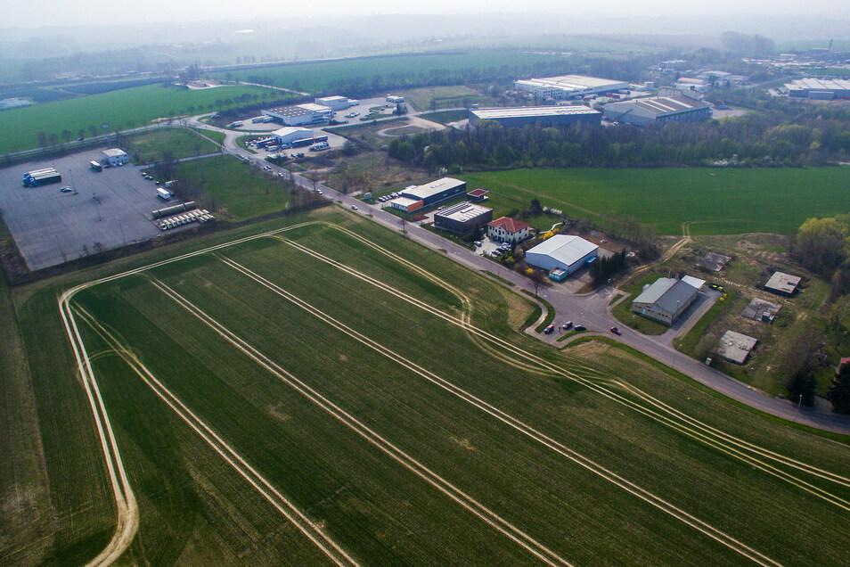Dieses Feld gehört seit 28 Jahren zum Gewerbegebiet Fuchsloch. Bebaut wurde die Fläche aber nie. Das soll sich ändern.
