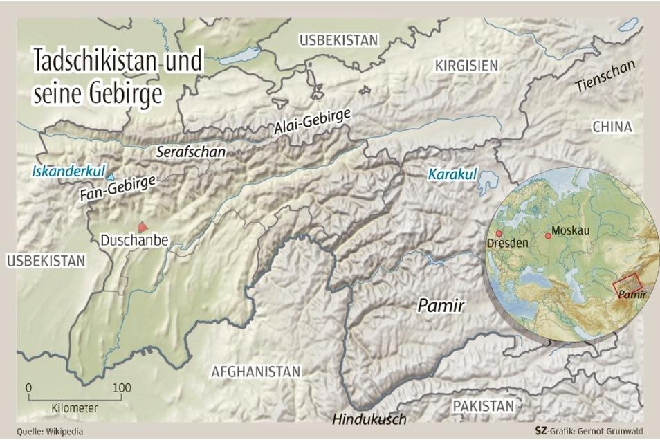Die Gebirgslandschaft im sowjetischen Mittelasien war das Ziel der Undercover-Urlauber aus der DDR.