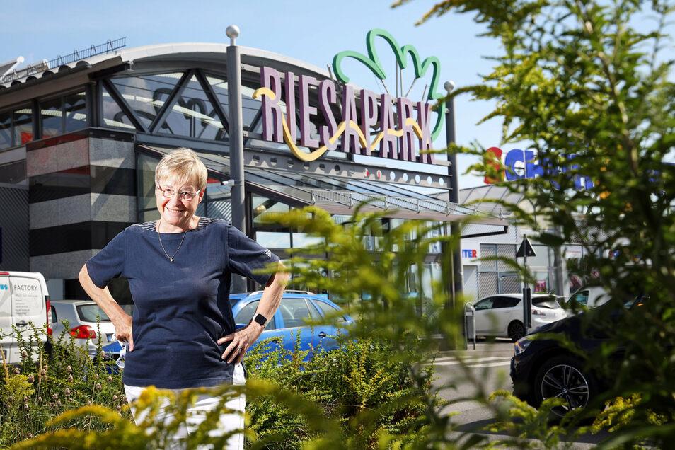 Elke Ullrich ist die neue Centermanagerin im Riesapark.