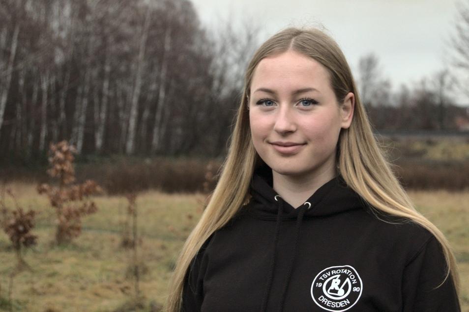 Die 18-Jährige Hannah Leni Krah war schon in kurzer Zeit erfolgreich als Stand-Up-Paddlerin.