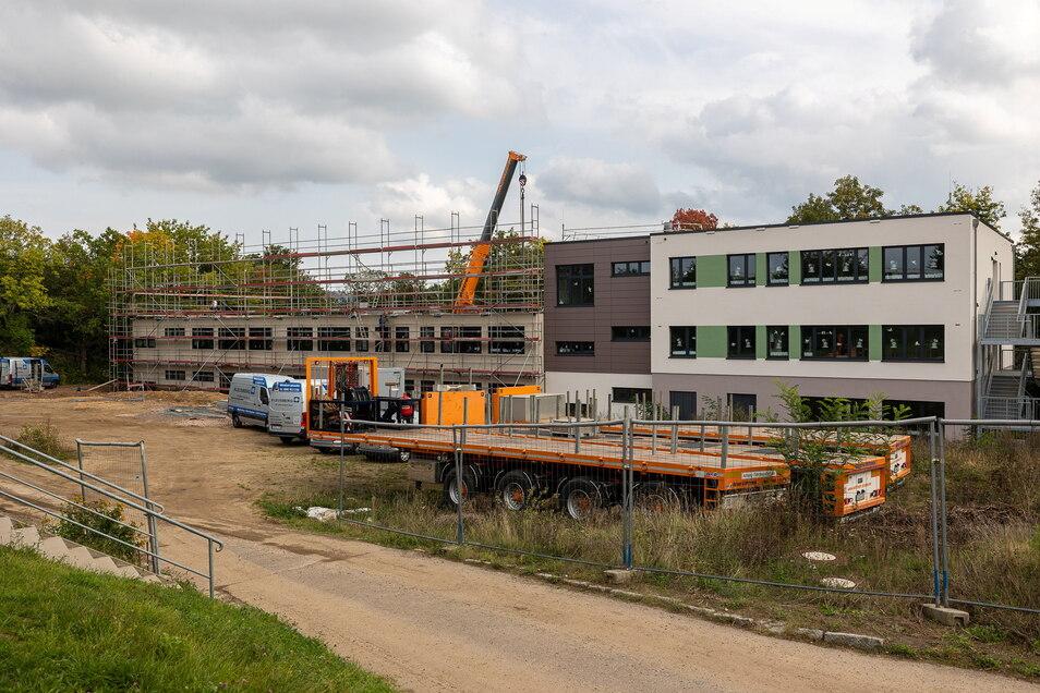 Die Förderschule Wilhelmine Reichhard bekommt neue Räume.
